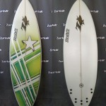 Shortboard 5 quillas