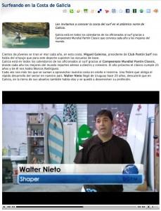 Walter Nieto en Galicia para el mundo