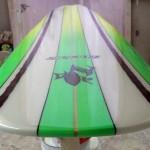 longboard para Alejandro (zorlak surfboards)
